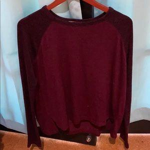 RAG &BONE red/maroon sweater